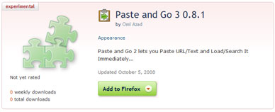 Firefox Extension: Paste And Go 3 1 0 5 - Hard Answers